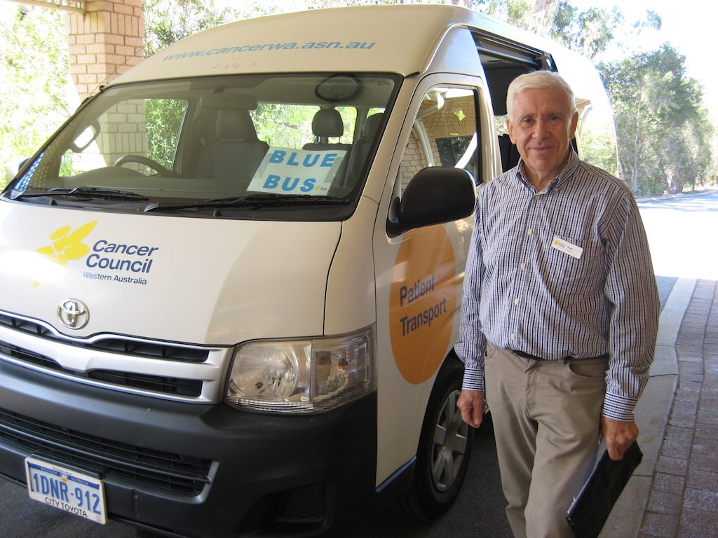Cancer Council volunteer