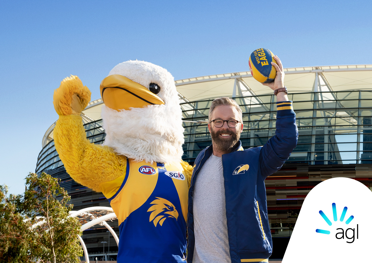 b5be506ce7d Footy season is back and thanks to AGL three lucky readers will get up  close and personal at a West Coast Eagles ...