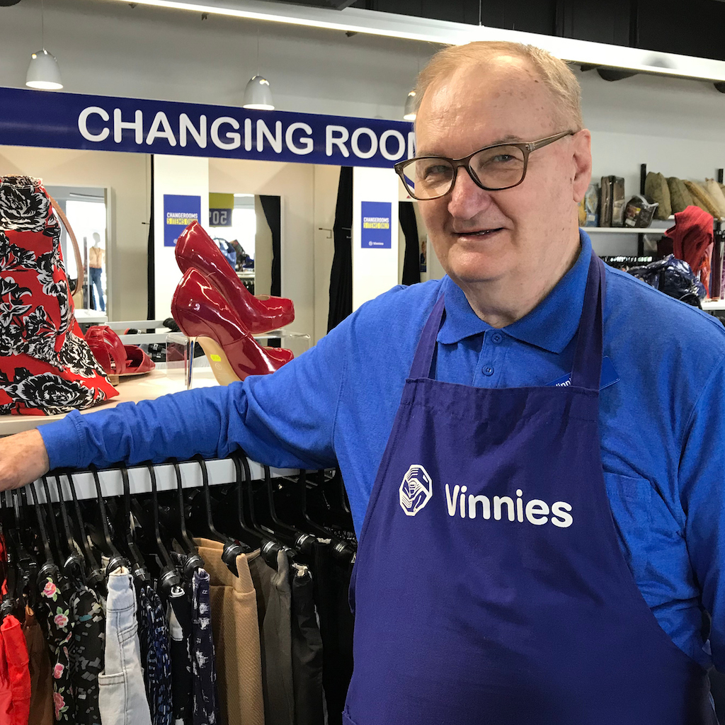 Vinnies Volunteer