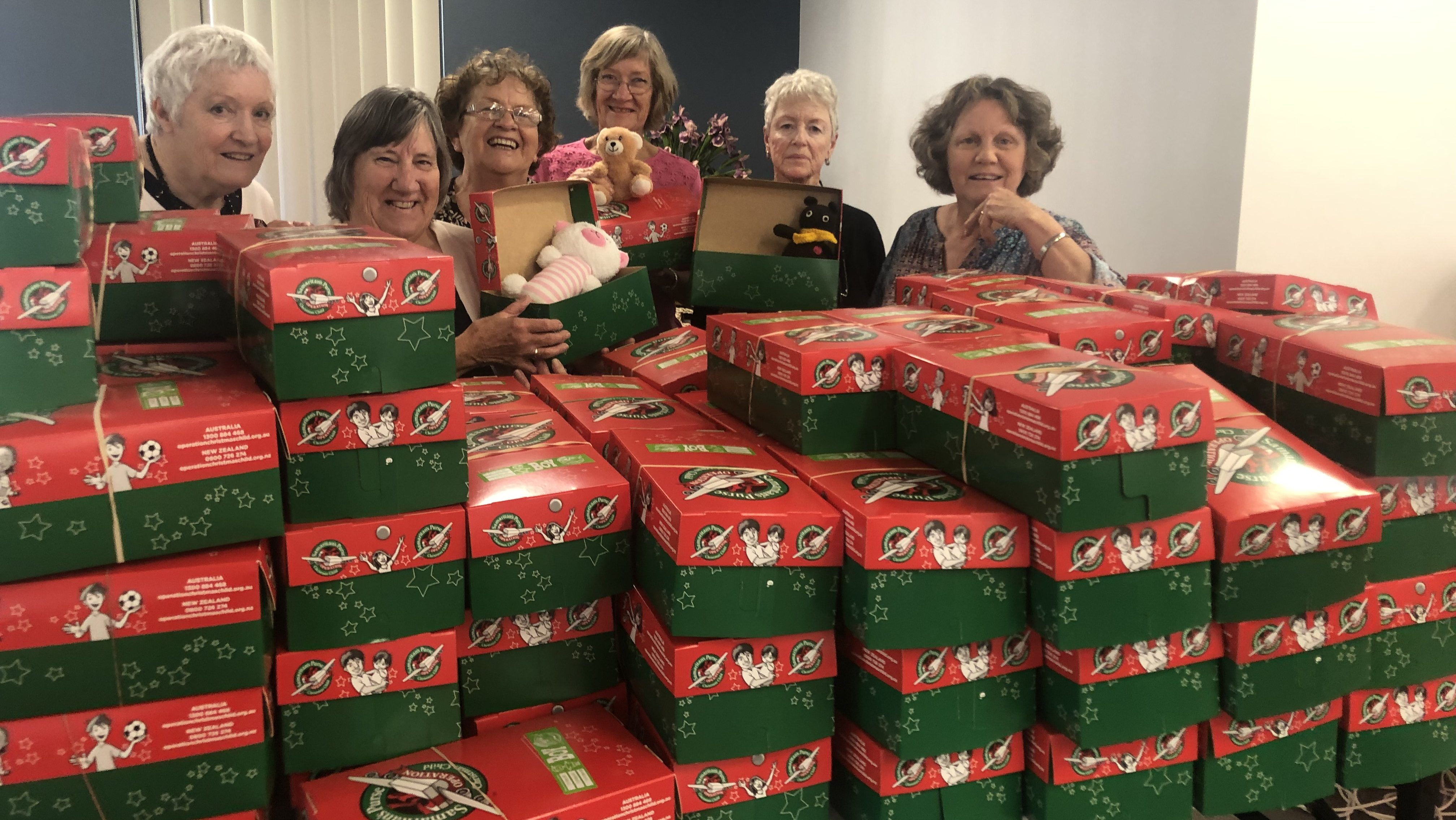 Operation Christmas Child Boxes 2019.Operation Christmas Child In Full Swing At Bethanie Sites