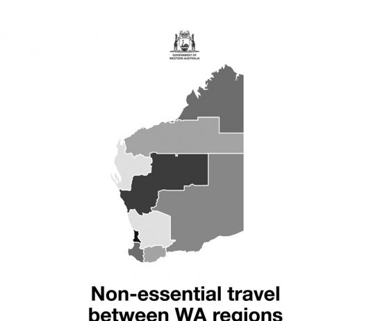 WA Travel Restricted