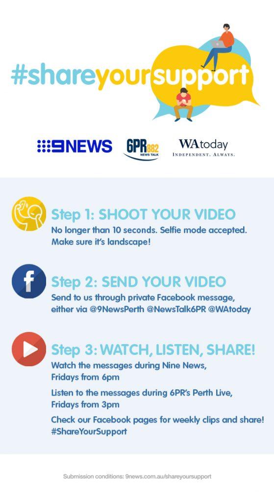 Channel Nine #shareyoursupport
