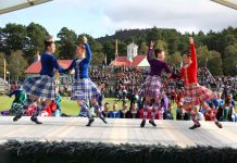 Scottish Highland Games Dancing