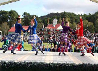 Scottish Highland Games Dancing