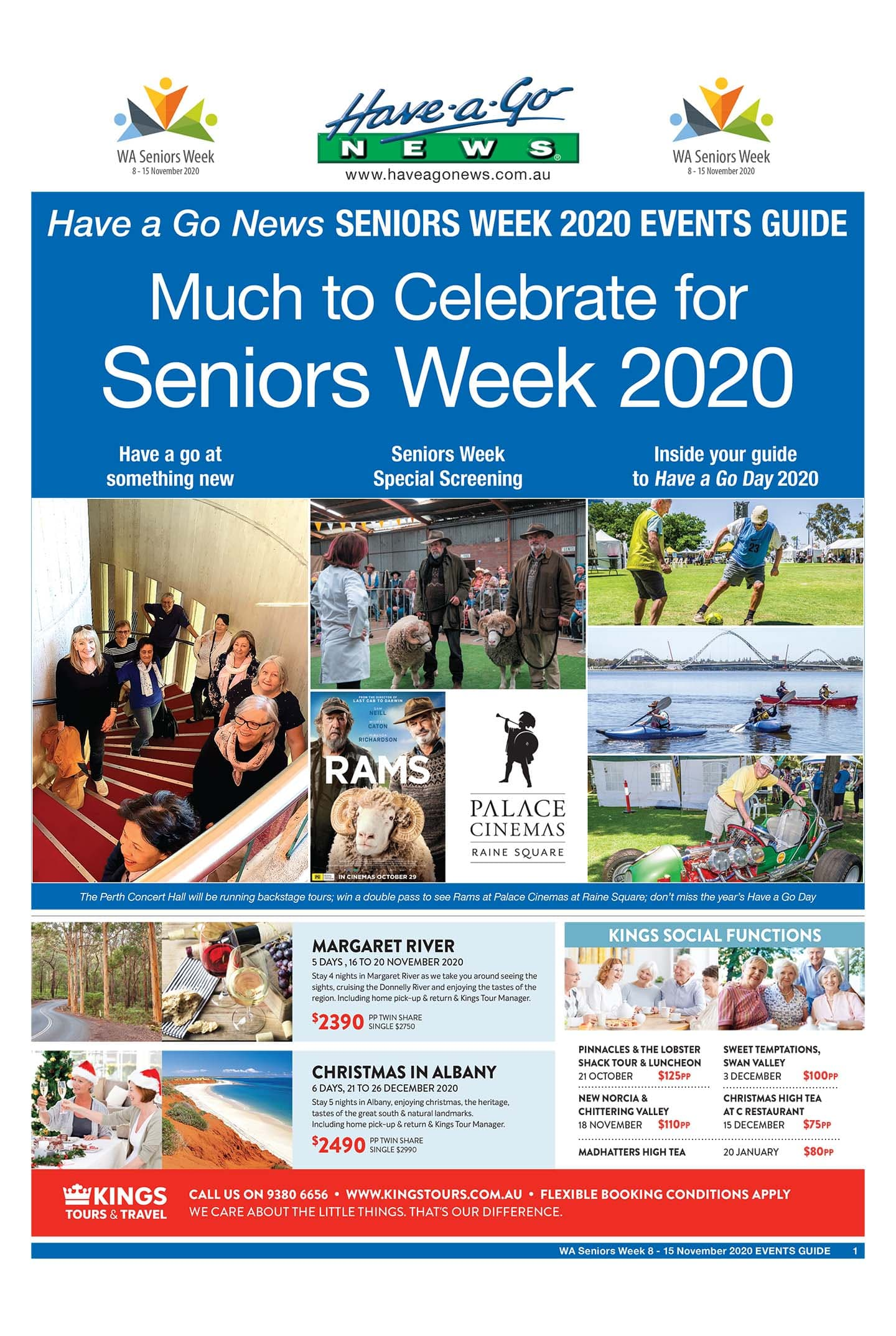 Seniors Week Event Guide