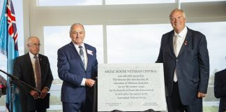 Governor Kim Beazley and RSLWA Chairman Peter Aspinall