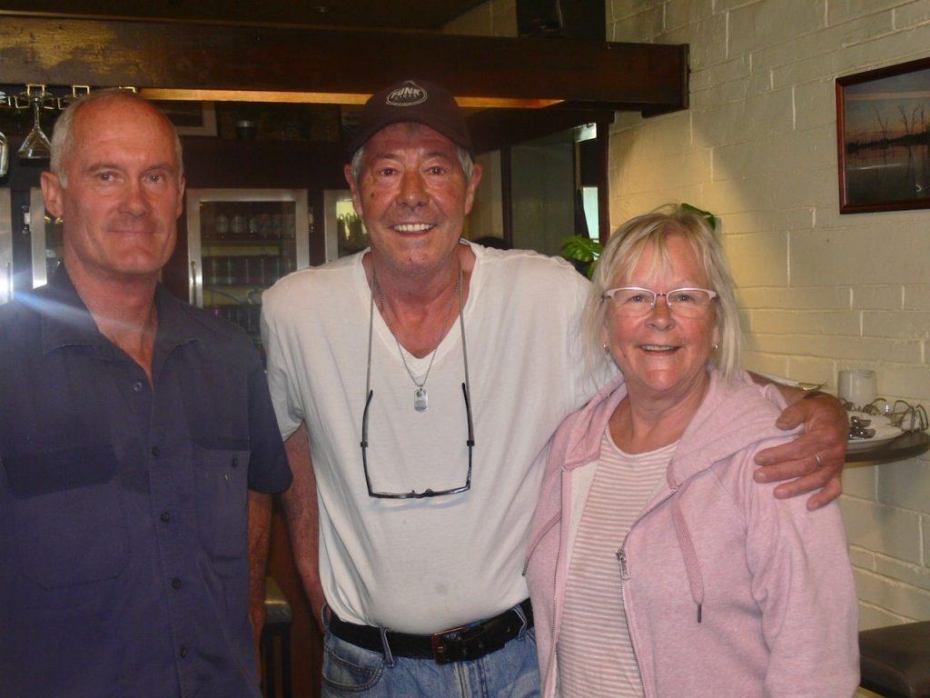 Paul Michael, Craig Wilkings and Wendy Stevenson