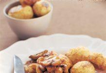 Teriyaki Mushrooms with Steak