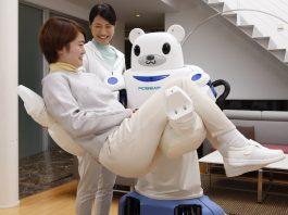 Robear, a patient care robot