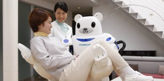Robear, a patient care robot