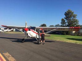 One of the pilots at Bunbury Aero Club