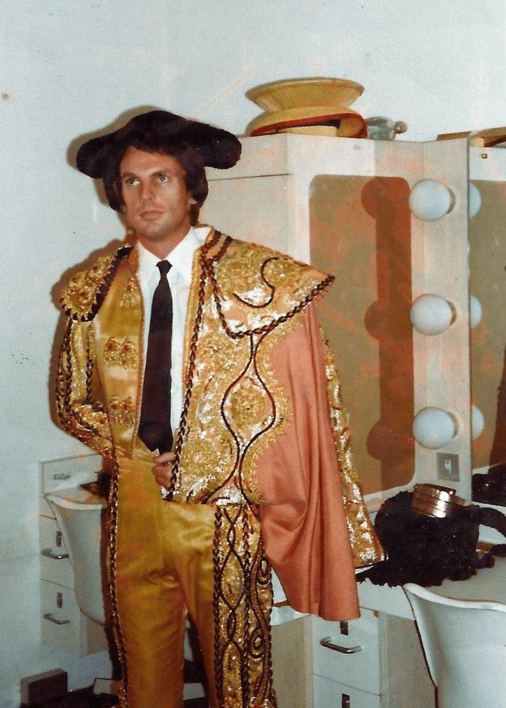 Peter in costume