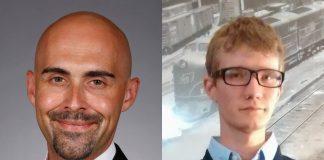 Food scientist Professor Auriel Willette and graduate research assistant Brandon Klinedinst