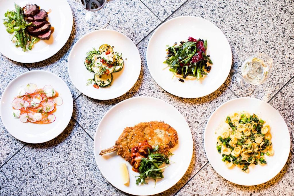 A selection of dishes from Shadow Wine Bar