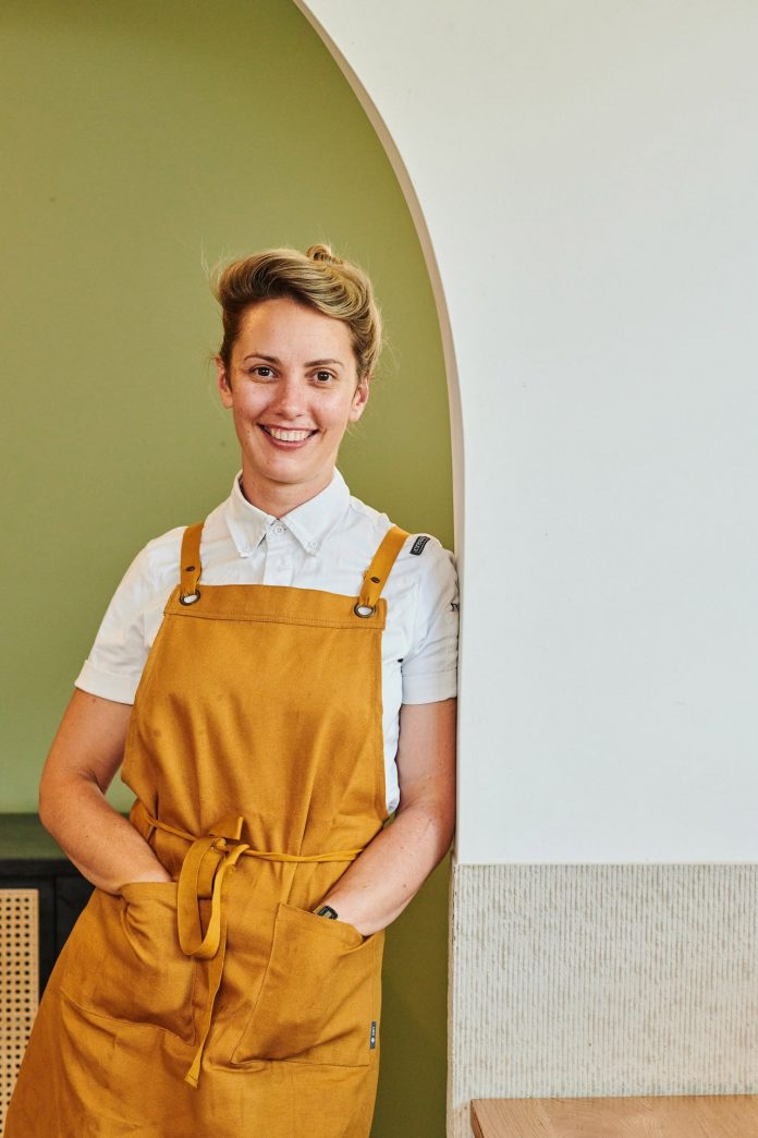 Alanna Sapwell, former head chef of ARC Dining in Brisbane is heading to Perth