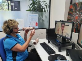 Providing advice on asthma and COPD.