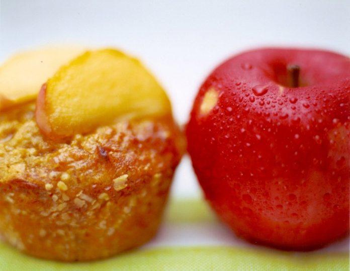 Apple and Walnut Muffins
