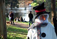 Celebrating winter in Bridgetown
