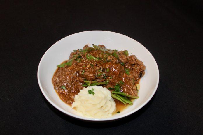 Vince's gluten free and winter comfort food recipe for beef burgundy ala Soren