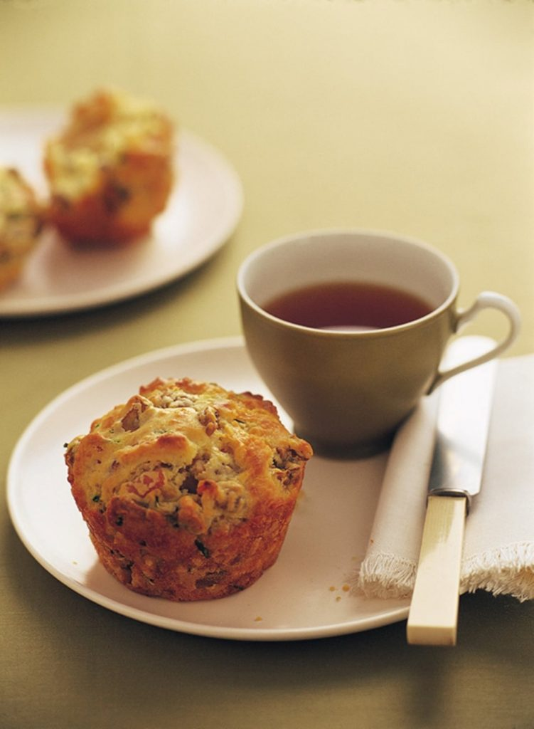 Vegetable Tuna Lunch Muffins