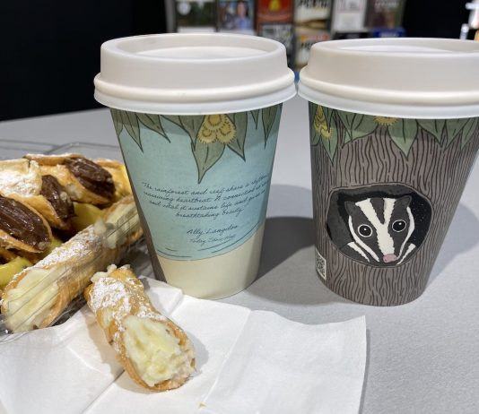 Cannolis and Coffee
