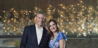 David Hobson and Marina Prior look forward to coming to WA