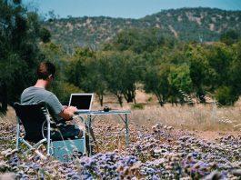 Writing desk near Geraldton