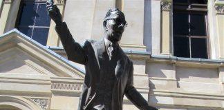 John Curtin Statue